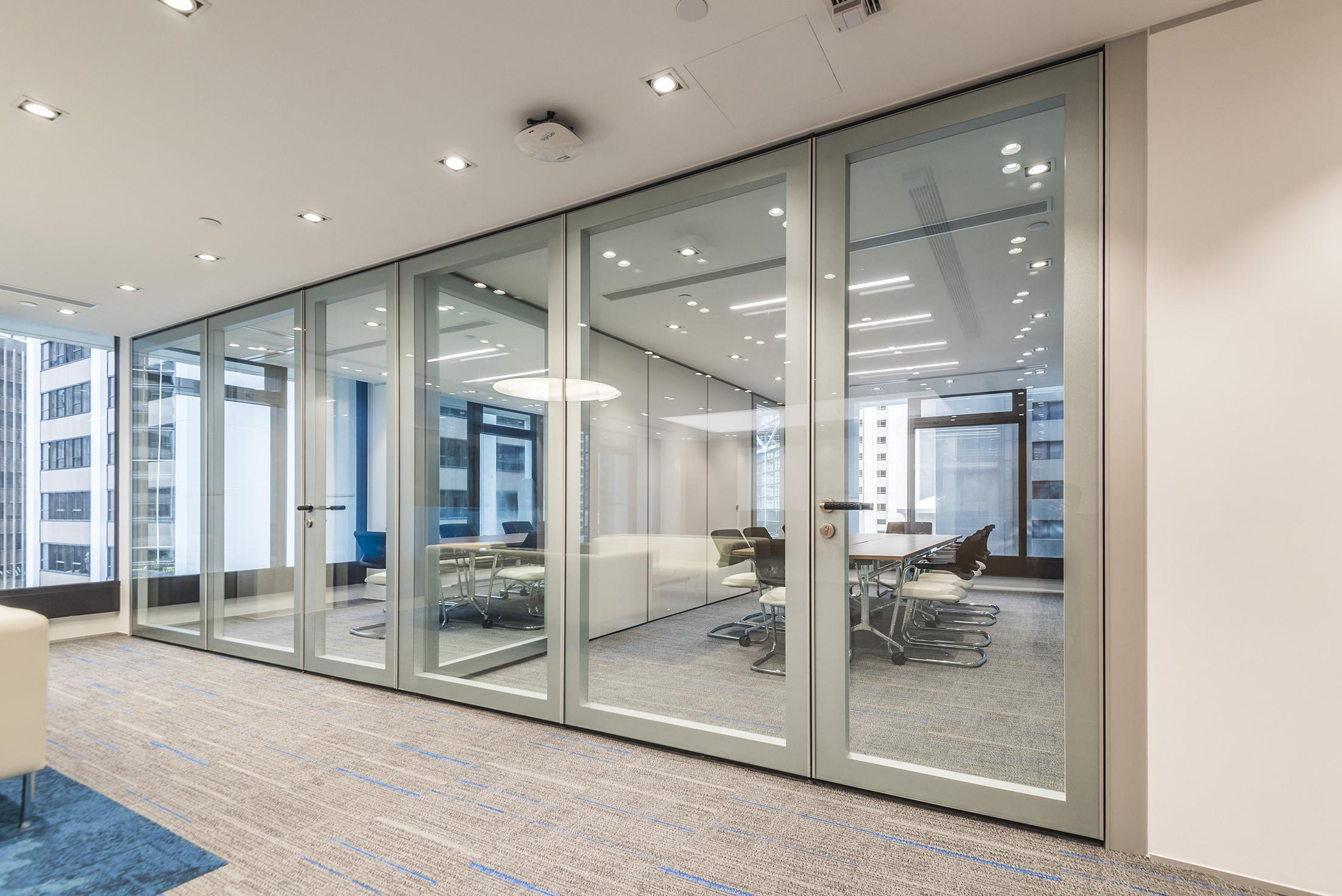 Office Partition Systems Hong Kong Frameless