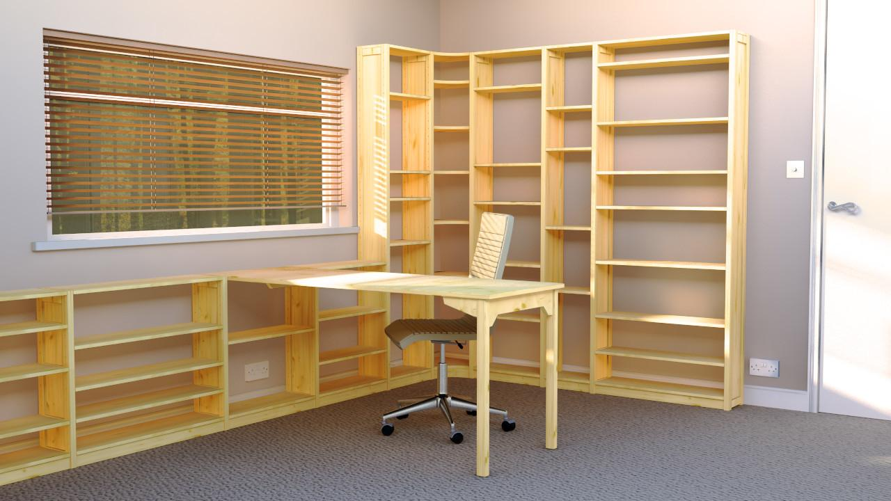 Office Shelves Bookcases Wood Shelving Units Offices