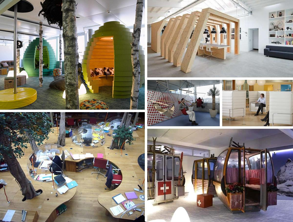 Office Spaces Amazing Cubicles Modern Style
