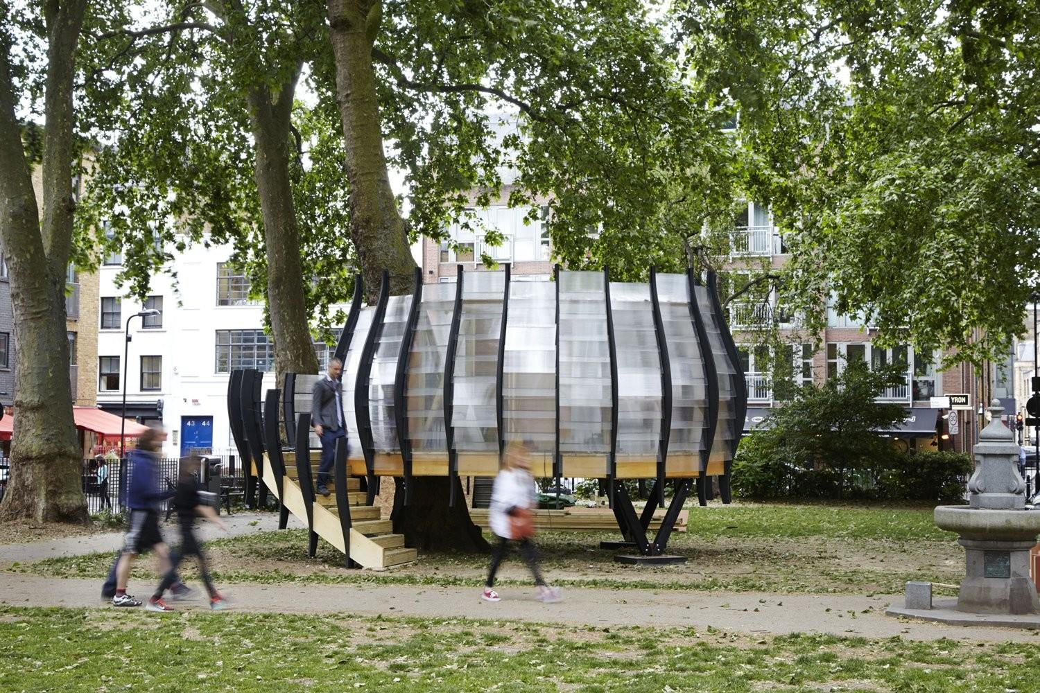 Office Treehouse Opens Hoxton Square London