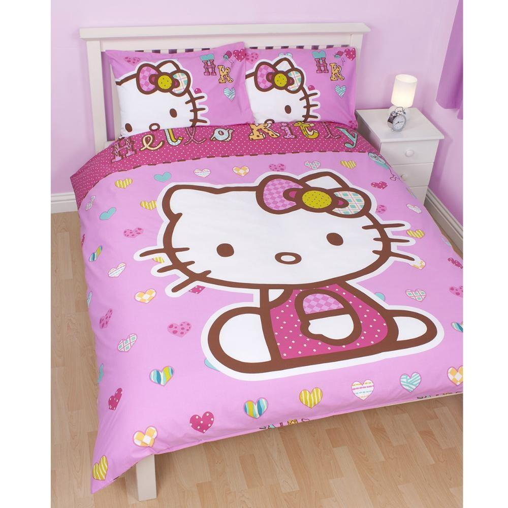 Official Hello Kitty Bedding Bedroom Accessories