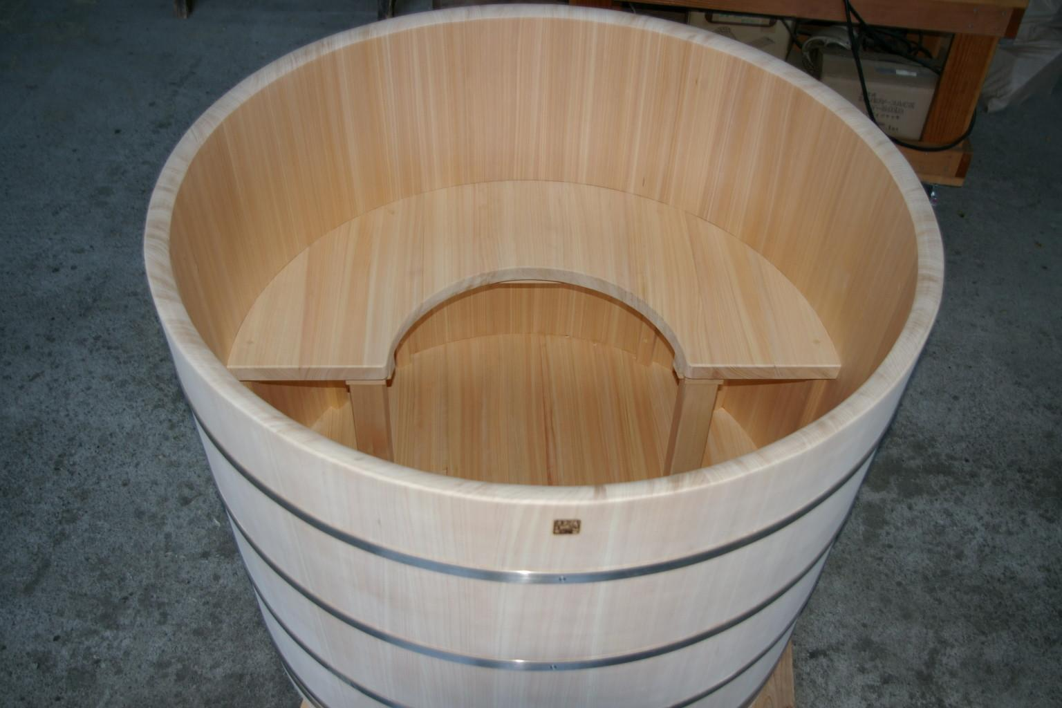Ofuro Soaking Hot Tubs Round Tub Long Island