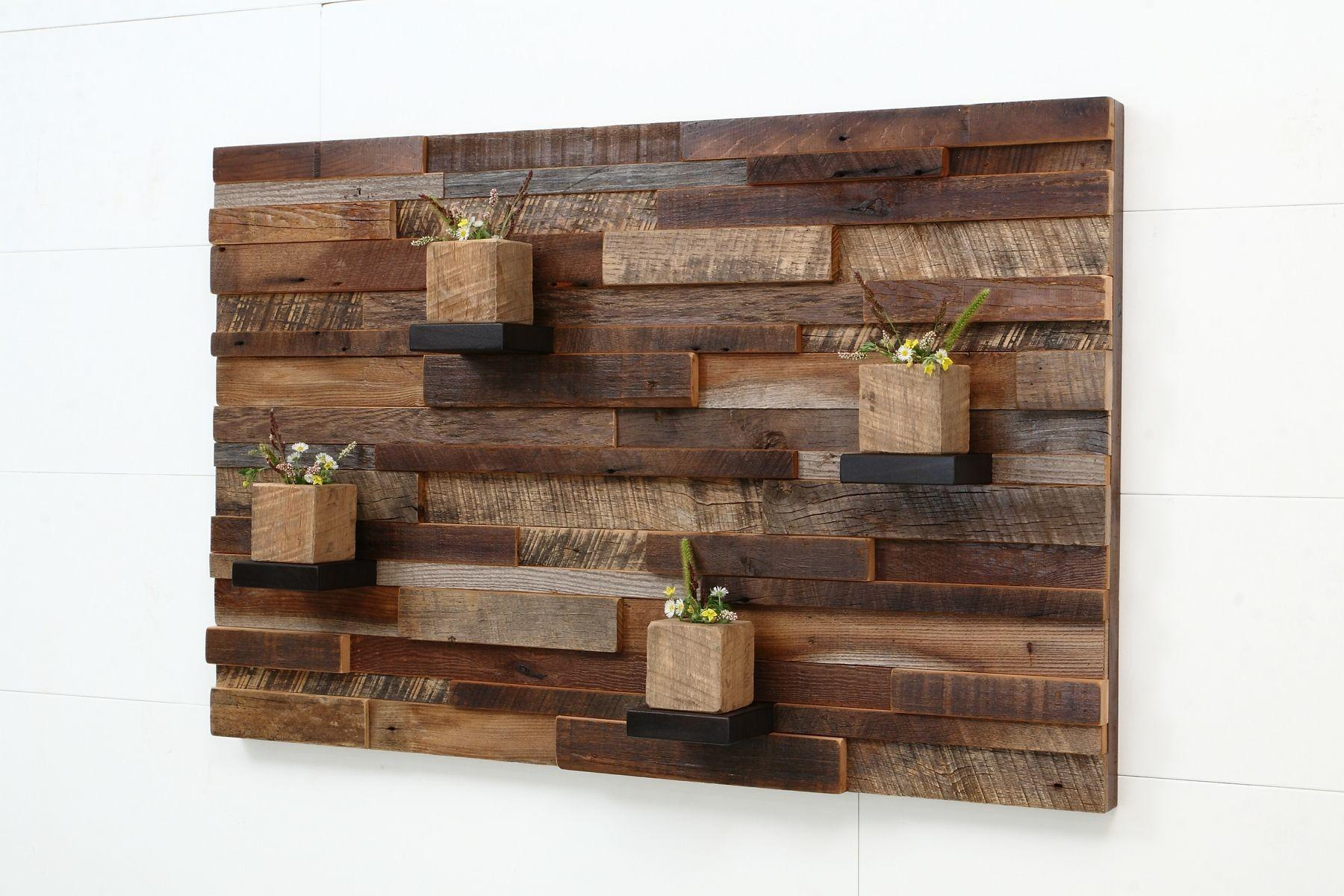 Old Barn Wood Wall Art Made