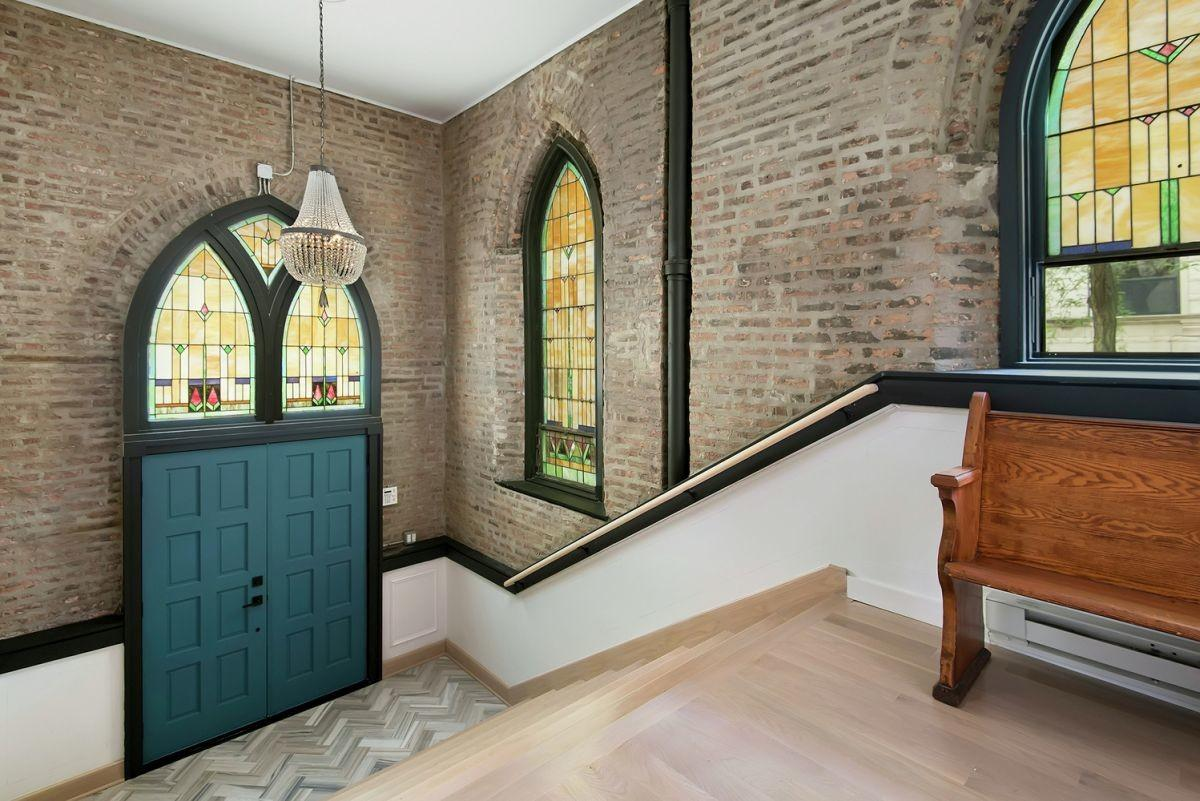 Old Church Converted Into Eclectic Family Home