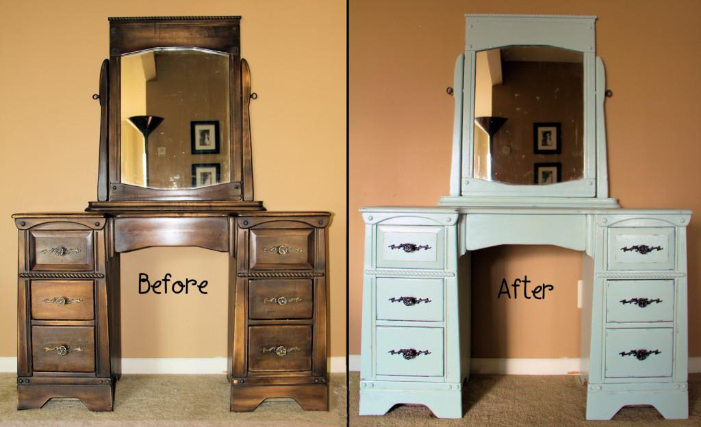 Old Furniture Painting Build House