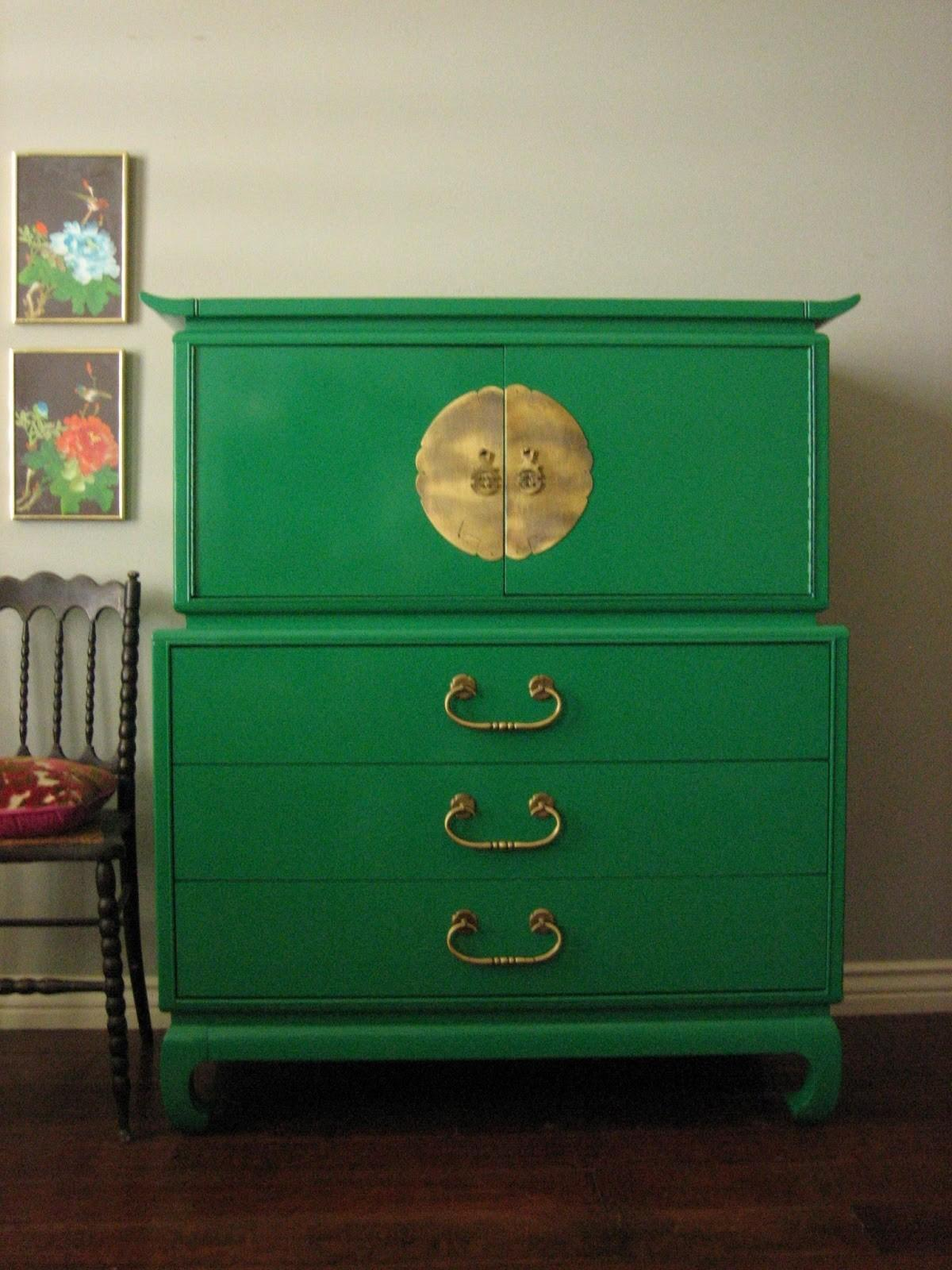 Old Green Diy Dresser Side Classic Chair Cute