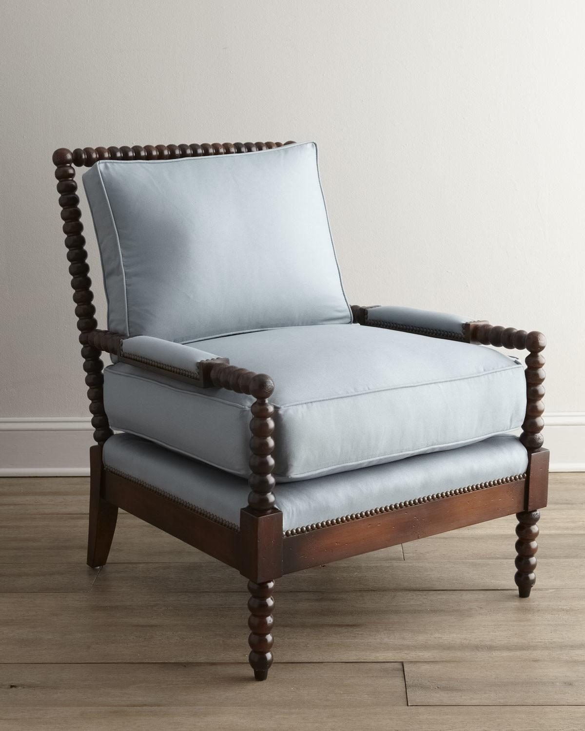 Old Hickory Tannery Ellsworth Spindle Back Chair