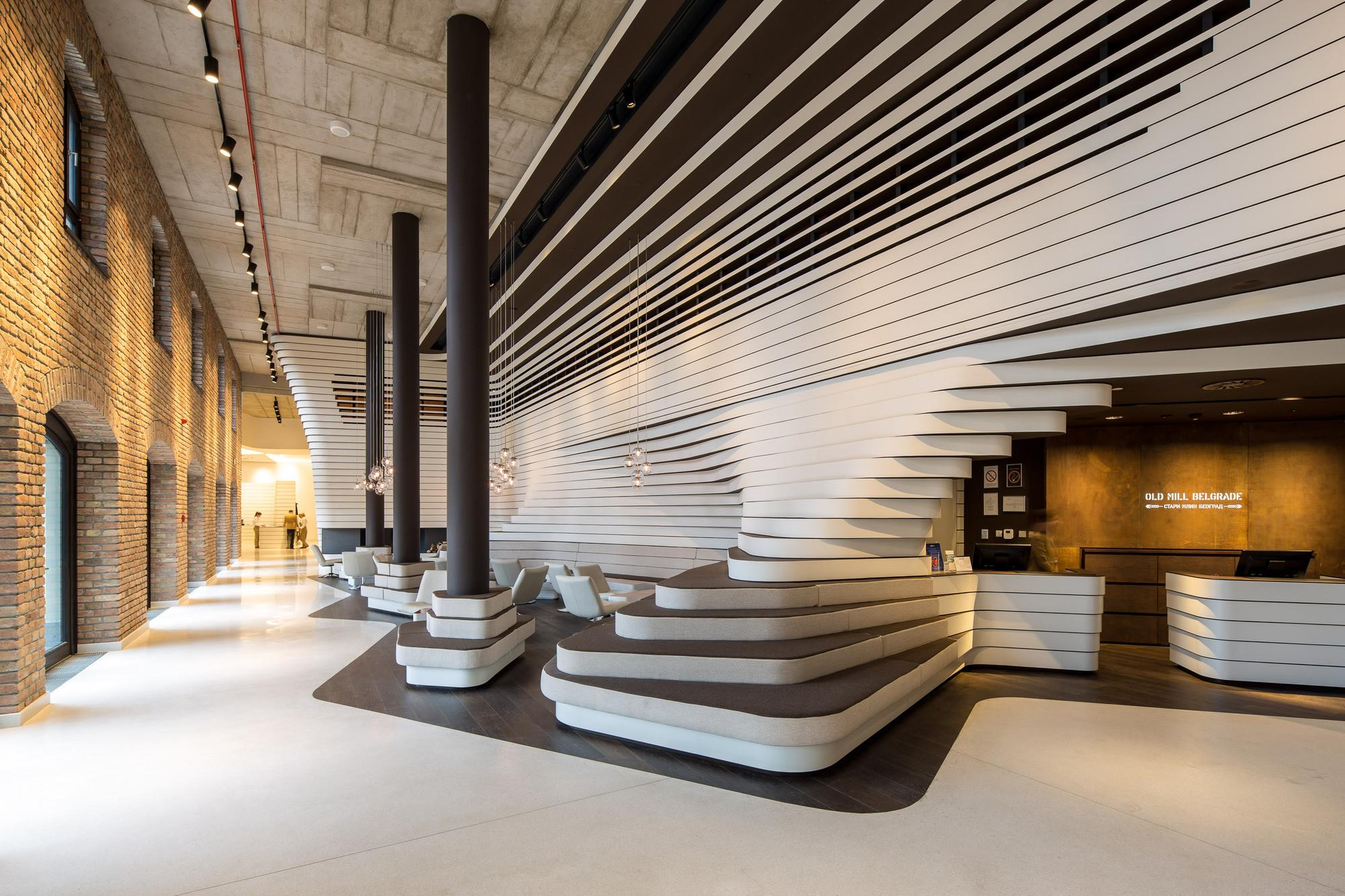Old Mill Hotel Belgrade Graft Architects Archdaily