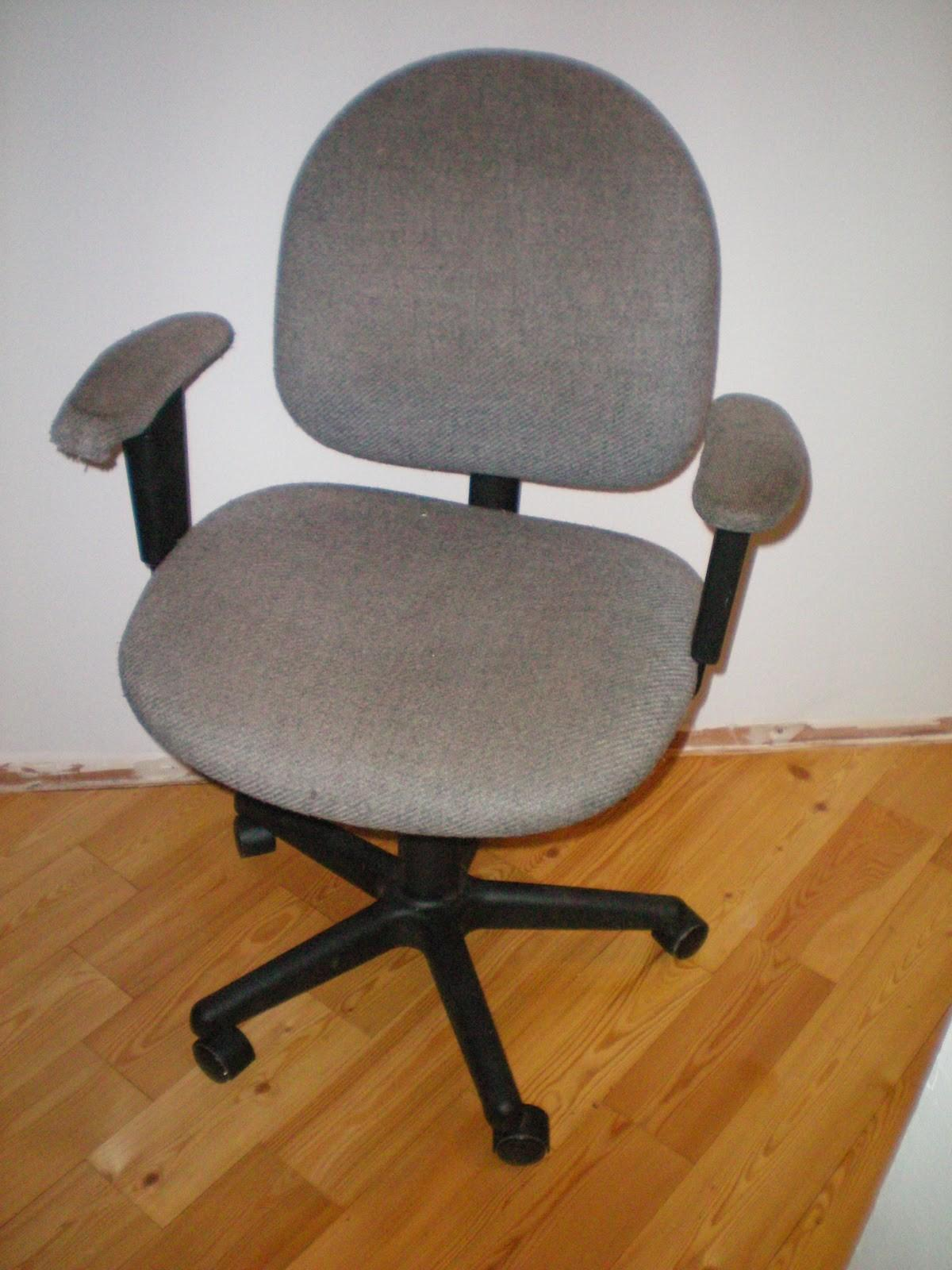 Old Office Chair Home Interior Furniture