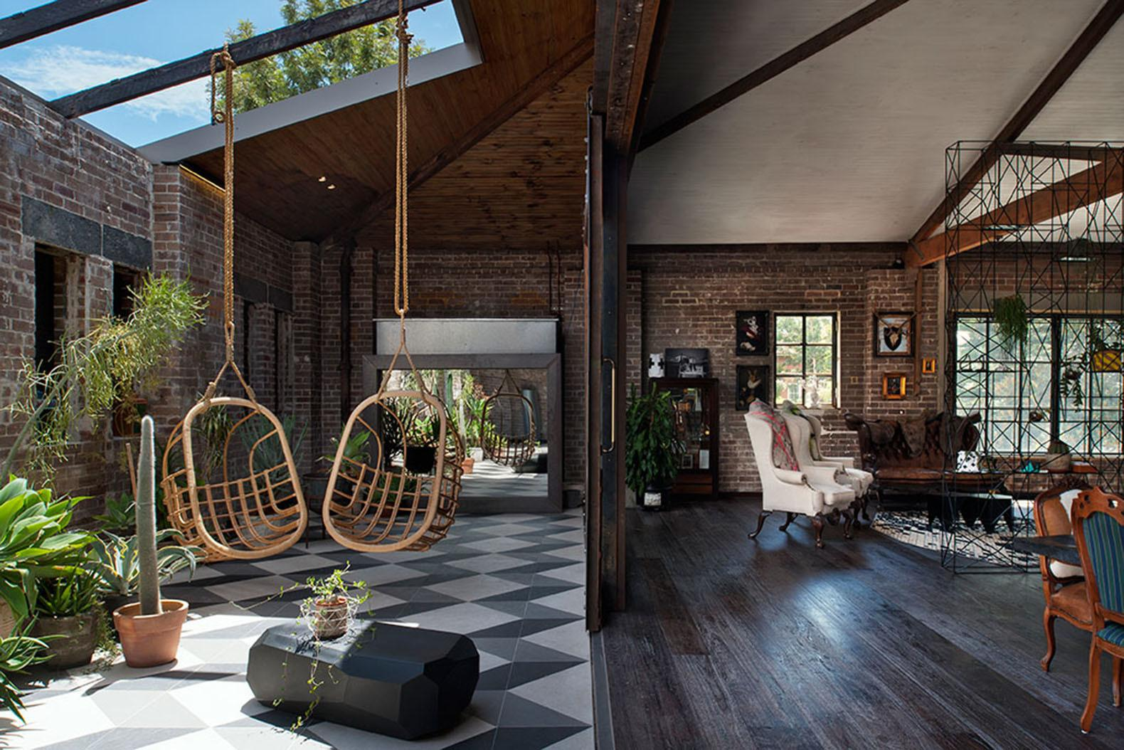 Old Sydney Warehouse Transformed Into Modern Man Cave