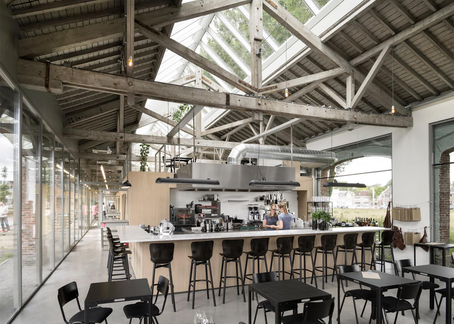 Old Train Shed Transformed Into Gorgeous Office