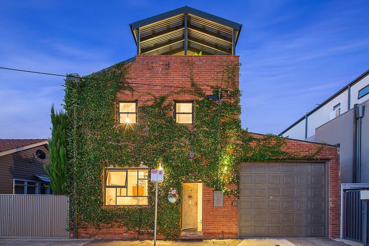 Old Warehouse Melbourne Turned Into Modern Day Green