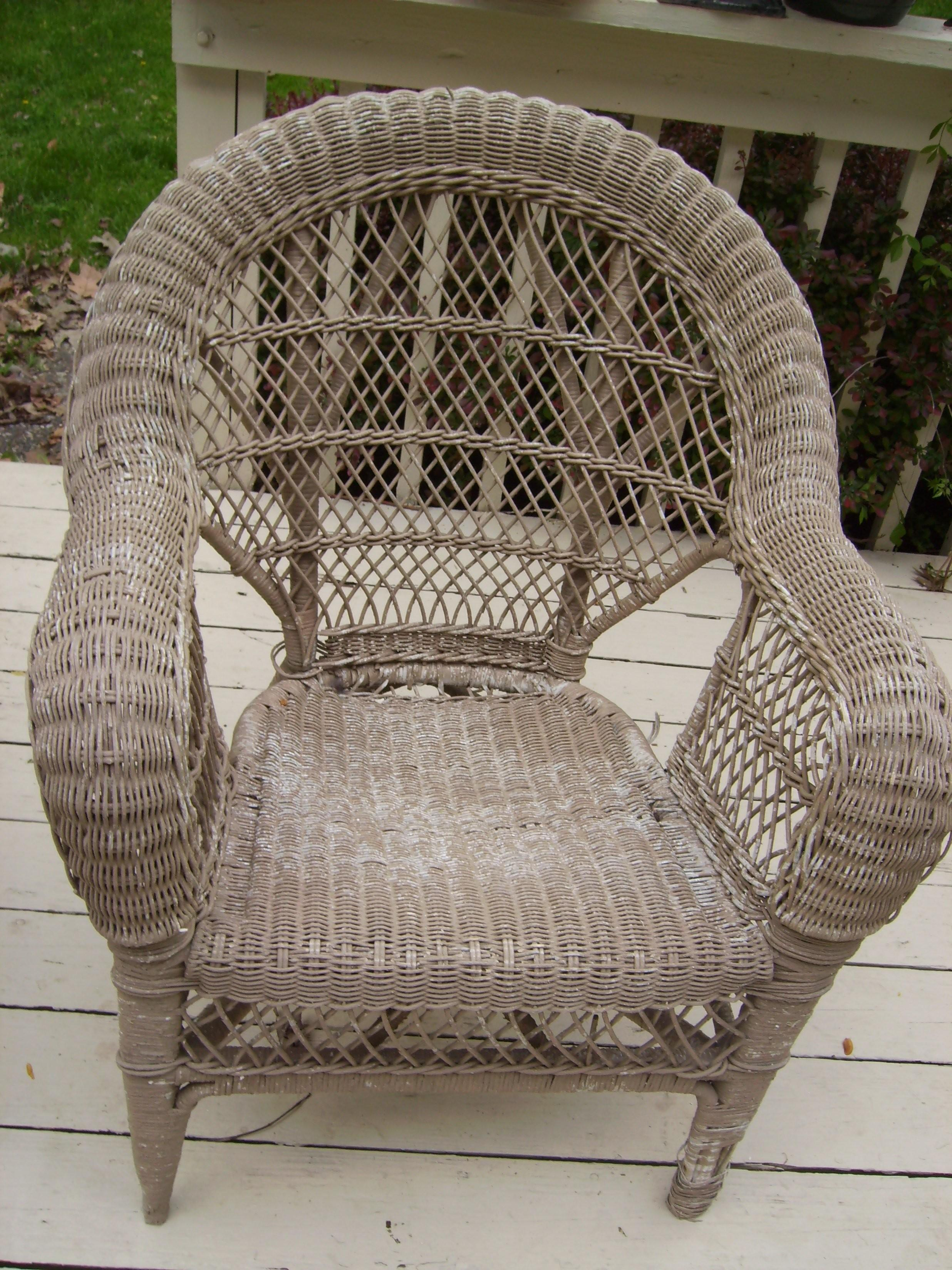Old Wicker Chair Modern Chairs Quality Interior 2017