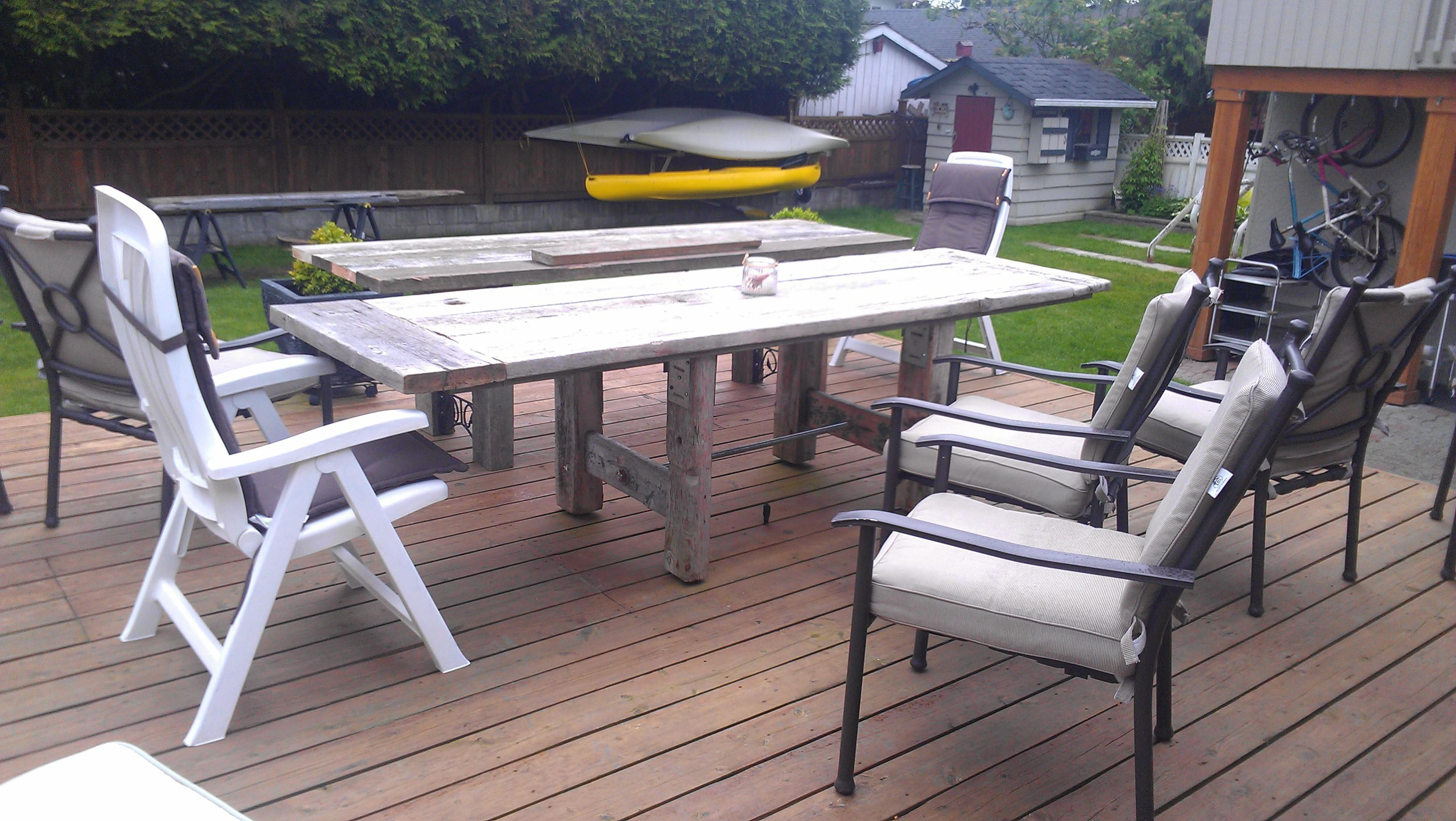 Old Wood Outdoor Furniture Benches