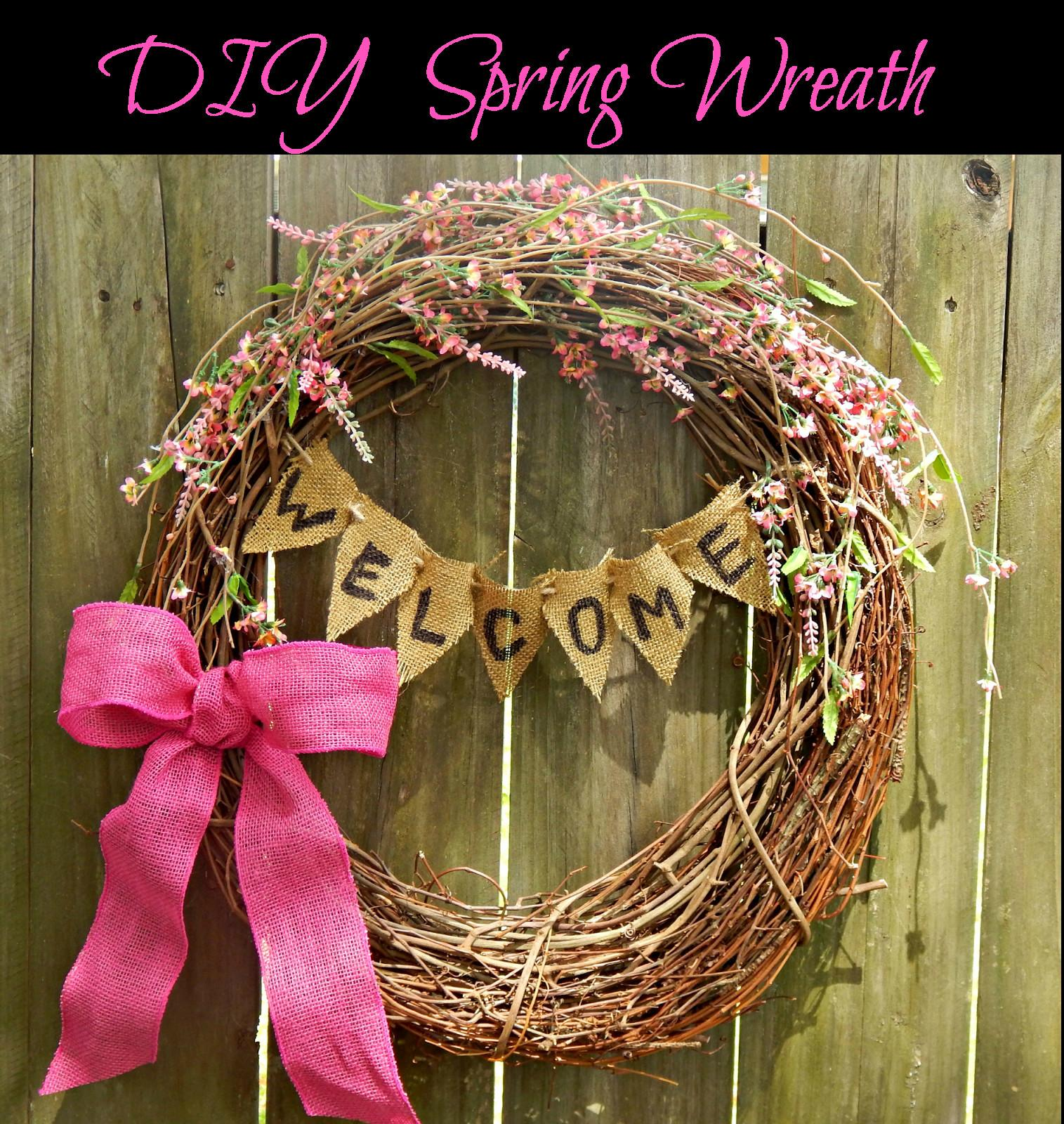 Ole Mom Diy Spring Wreath