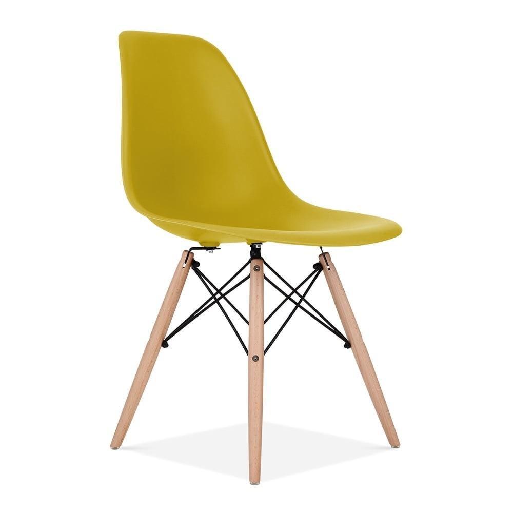 Olive Eames Style Dsw Chair Side Cafe Chairs Cult