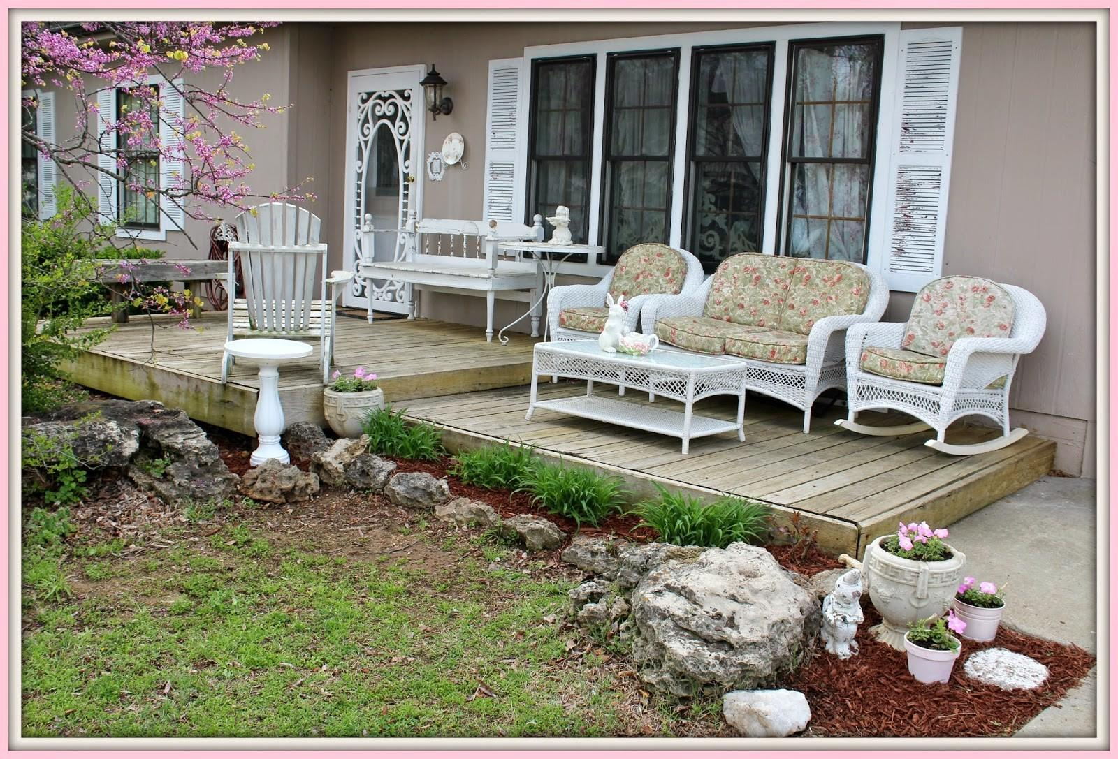 Olivia Romantic Home Shabby Chic Front Porch
