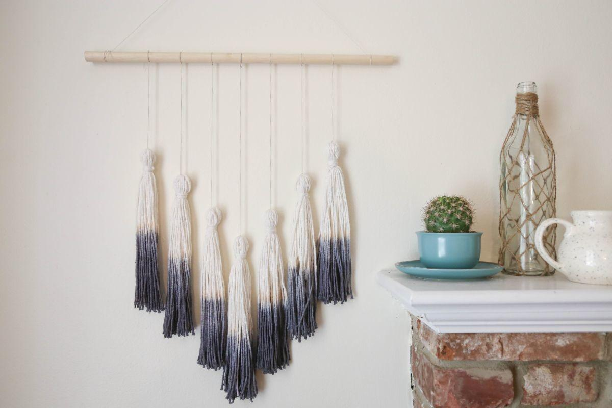 Ombr Tassel Wall Hanging