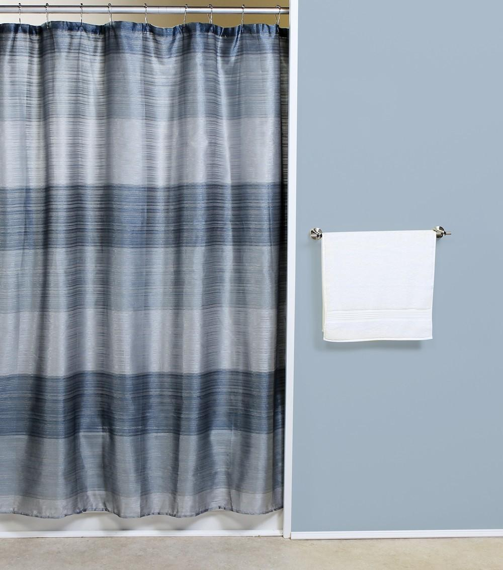 Ombre Shower Curtain Modern Curtains Jewel