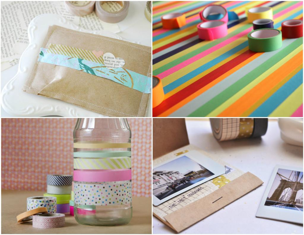 Omiyage Blogs Diy Washi Tape Projects