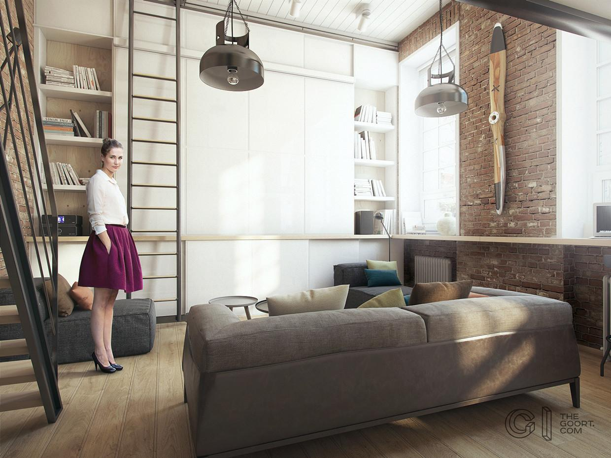 One Bedroom Apartment Young Couple