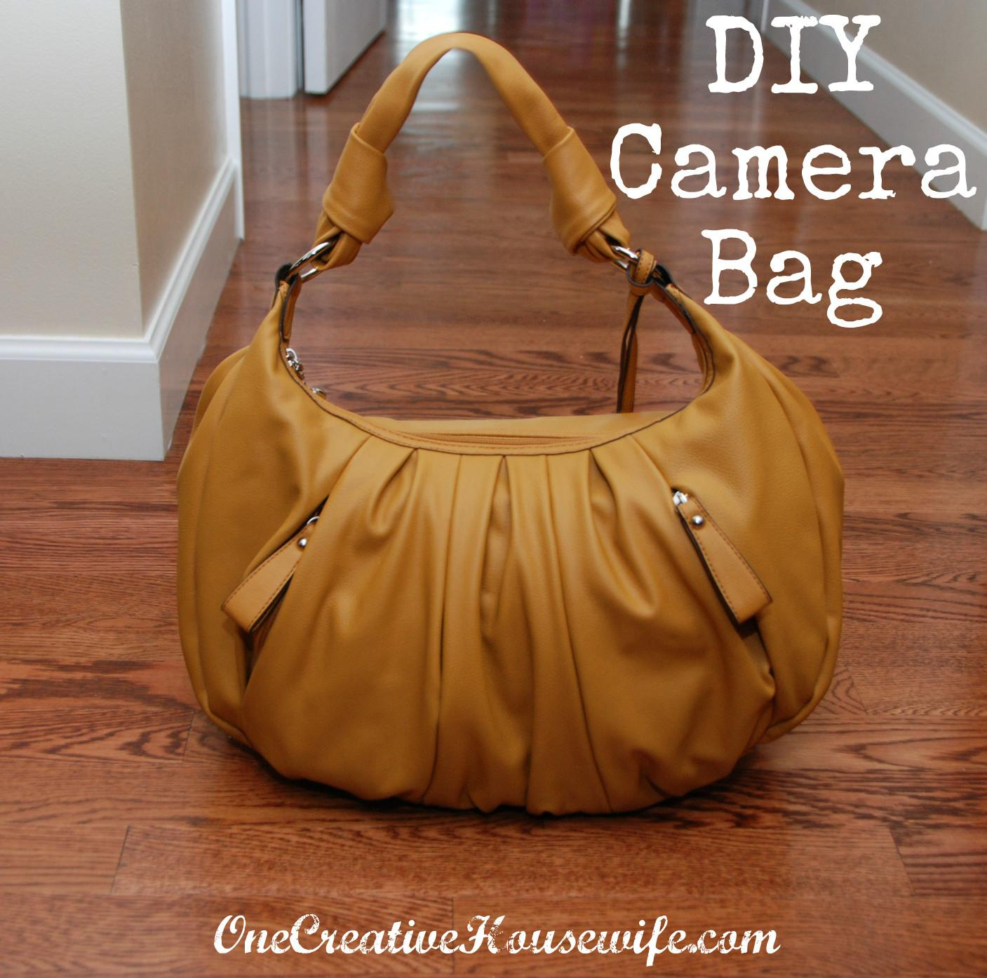 One Creative Housewife Diy Camera Bag