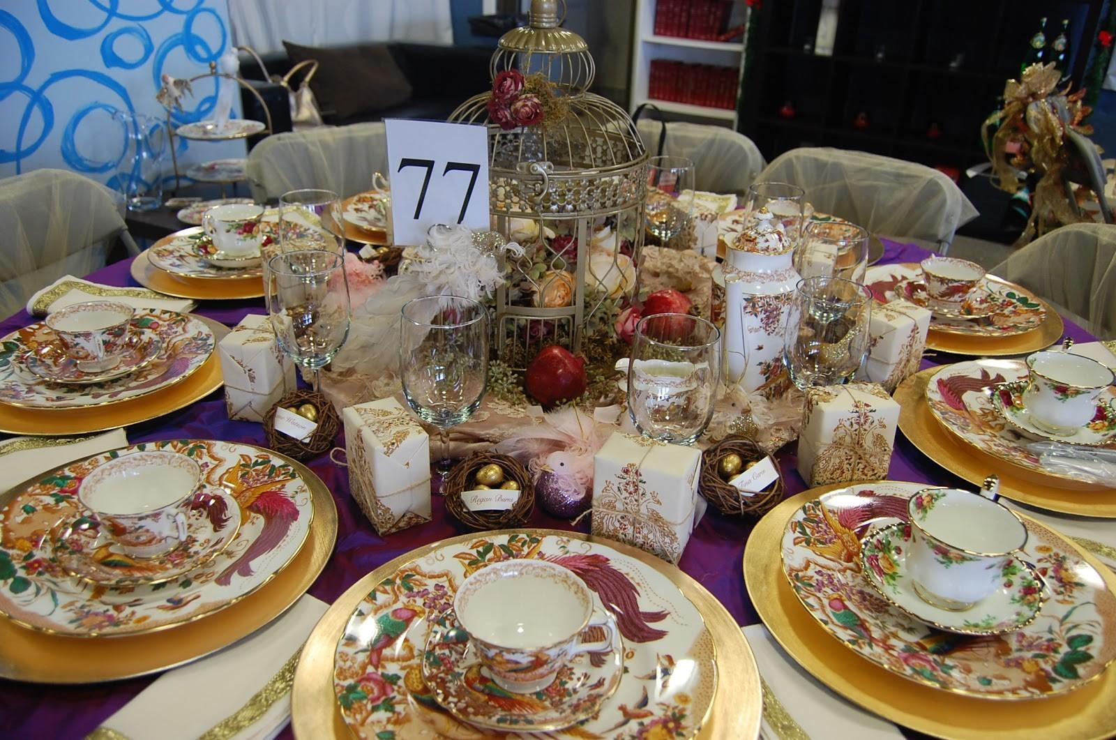 One Fabulous Mom Christmas Tea Party Setting Perfect