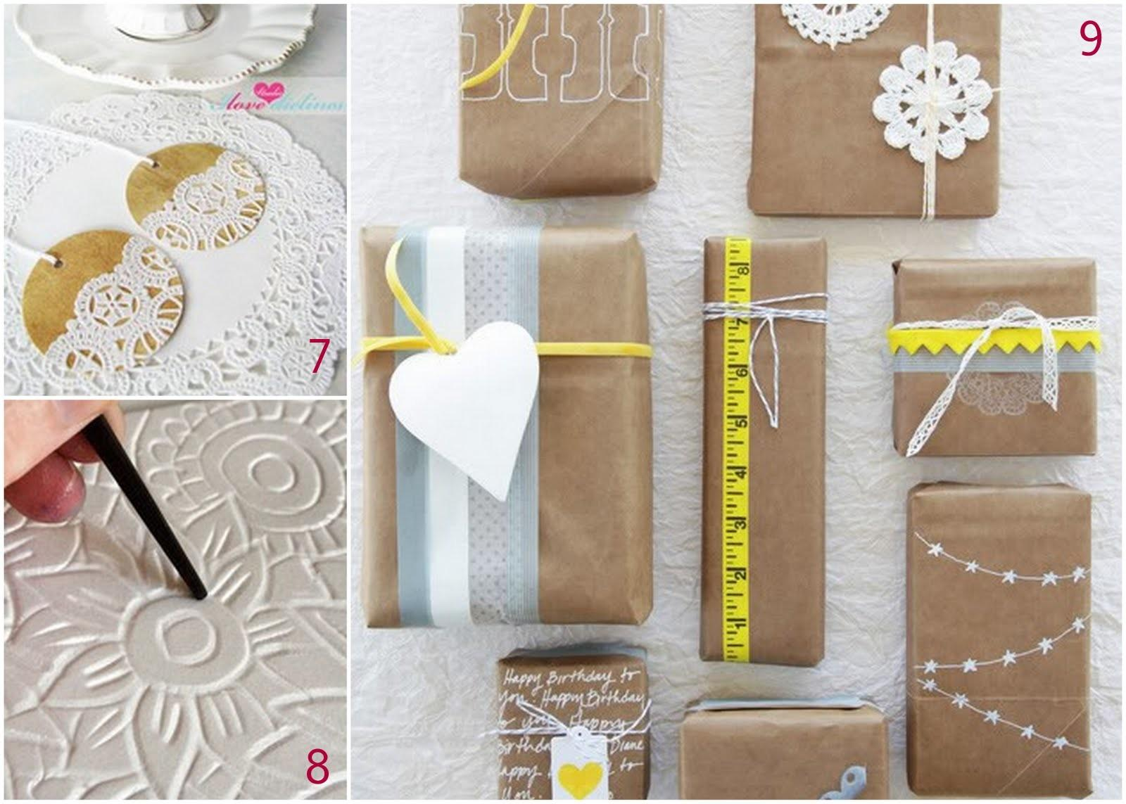 One Life Stills Diy Holiday Gift Wrap Ideas