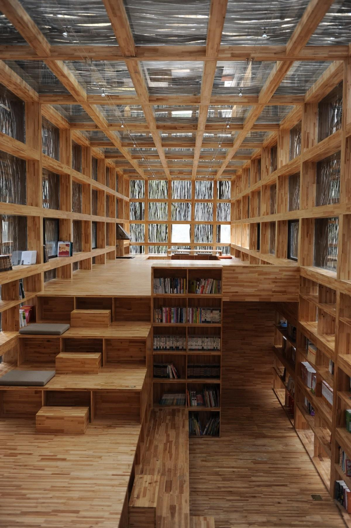 One Most Beautiful Libraries Have Ever Seen