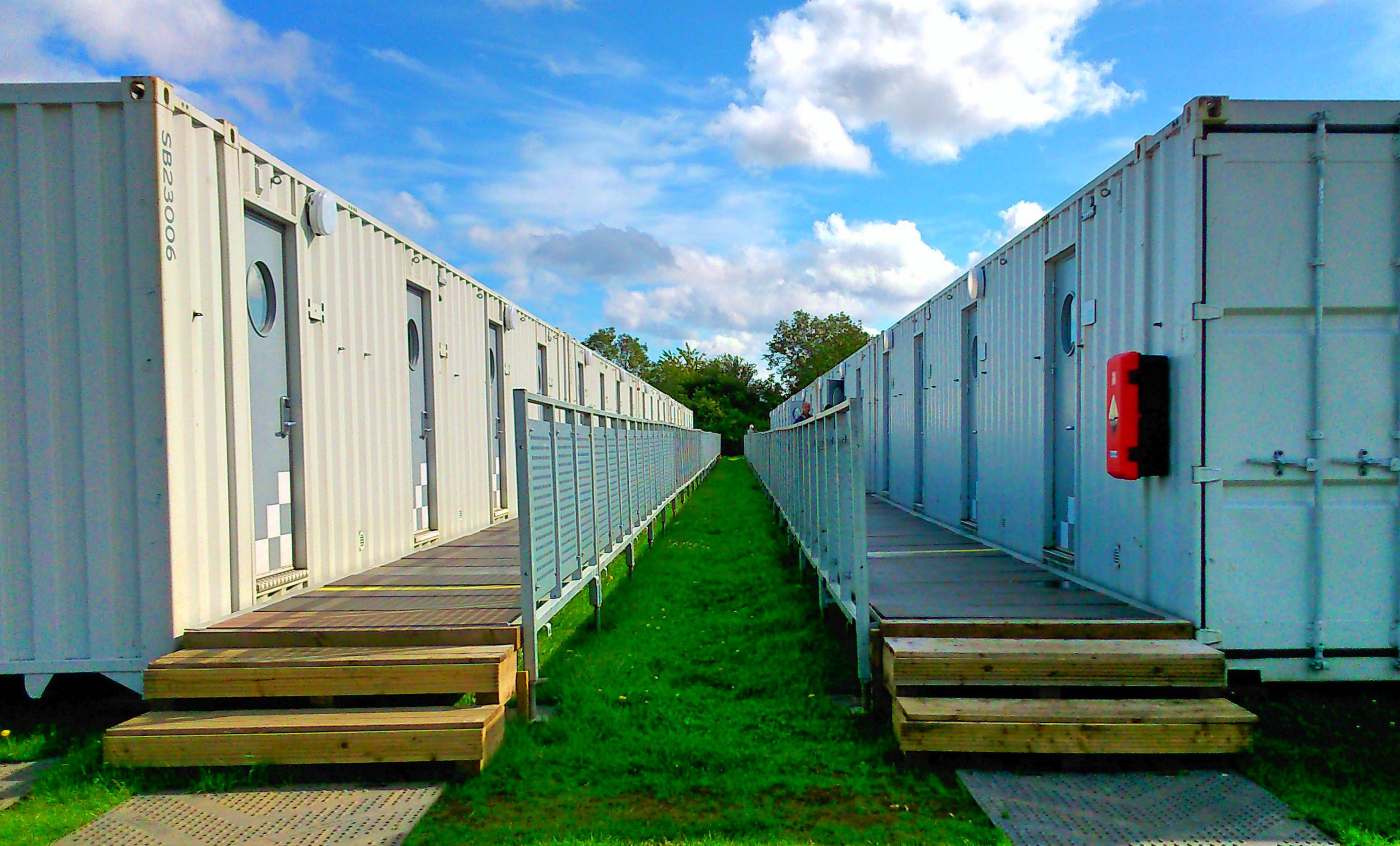 One Night Shipping Container Travel Sleep Repeat