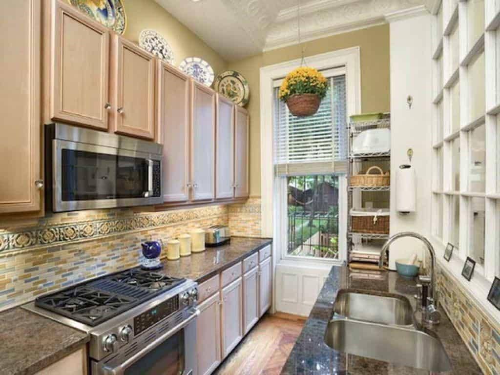 One Wall Galley Kitchen Design Peenmedia