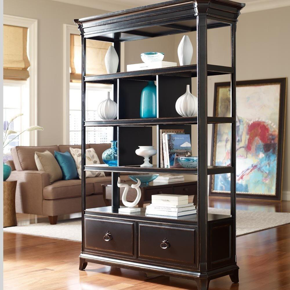 Open Bookcase Room Divider American Hwy