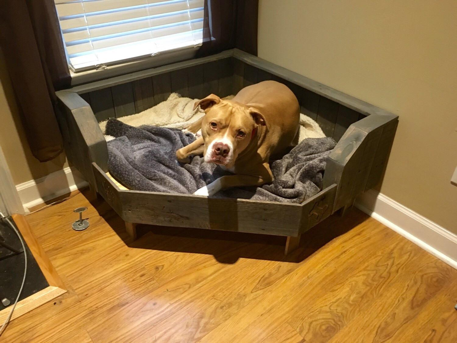Open Concept Organizing Super Easy Diy Dog Bed Connect
