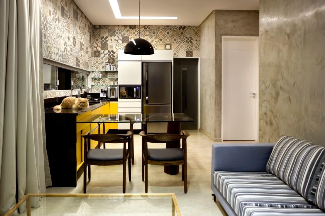 Open Plan Living Areas Combining Room Dining