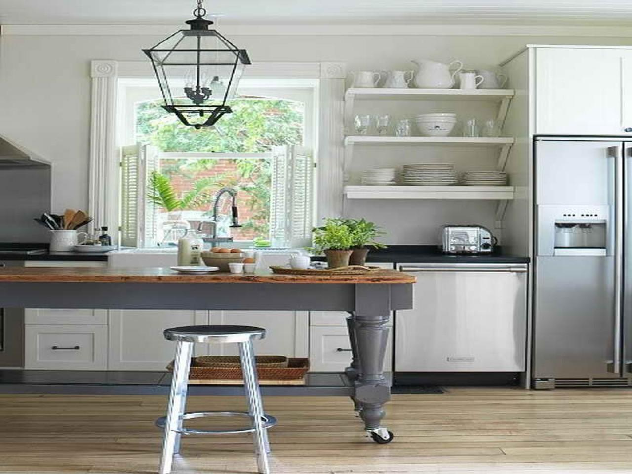 Open Shelving Kitchen Cabinet Designs