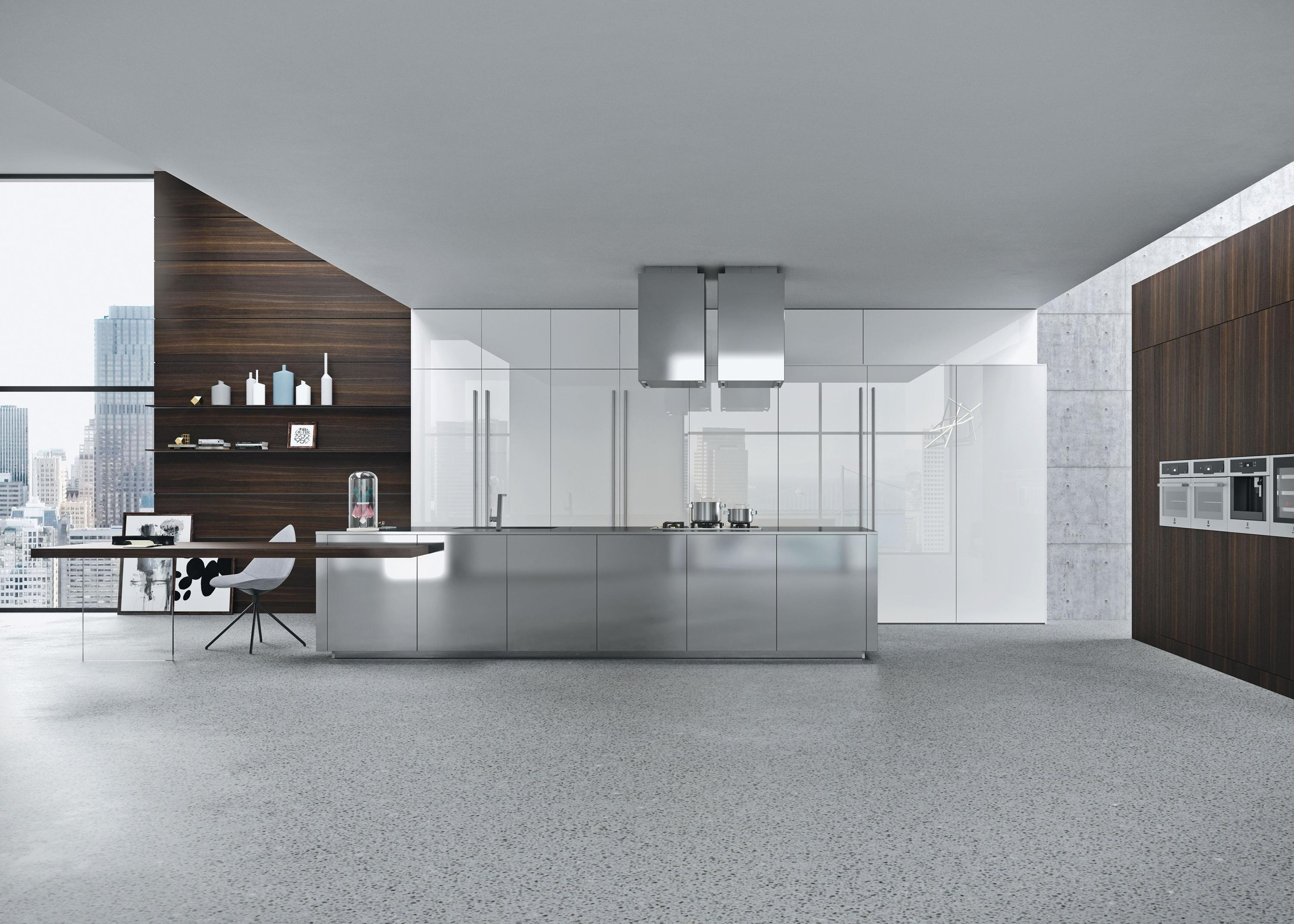 Opera Minimal Fitted Kitchens Snaidero Architonic