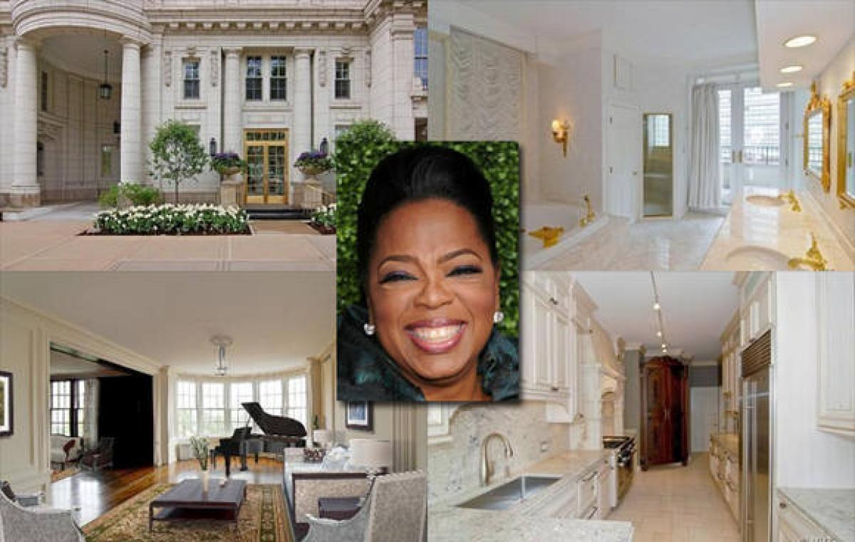 Oprah Winfrey Photos Inside Celebrity Homes Daily
