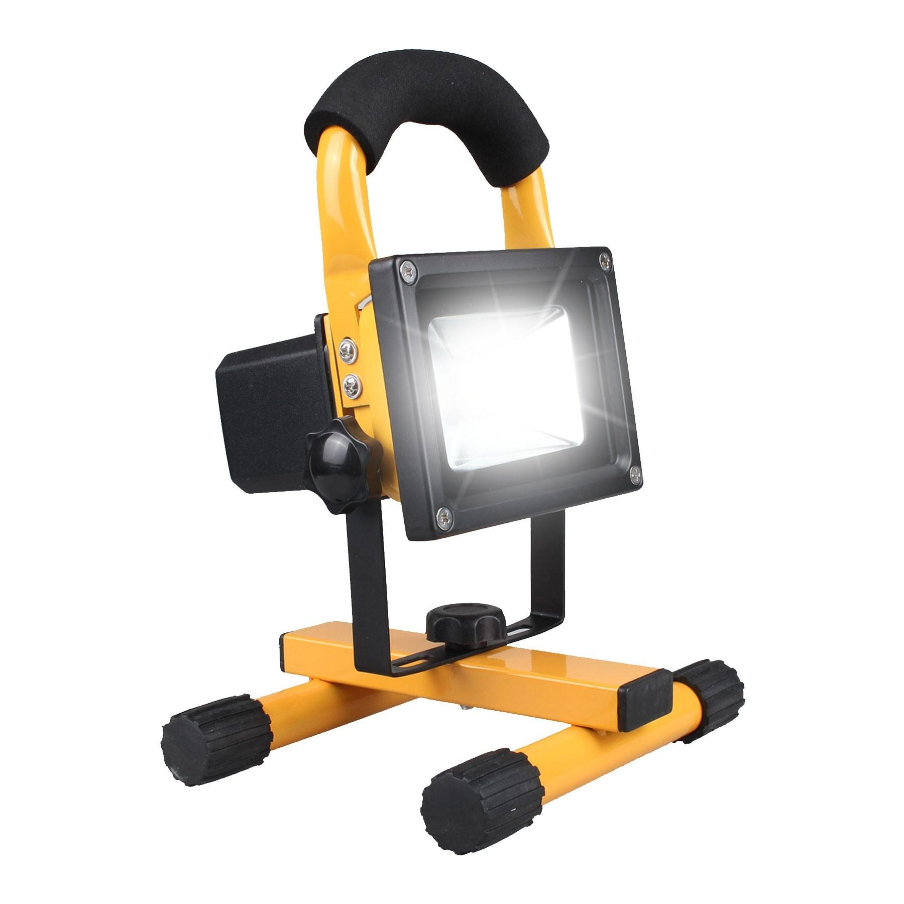 Opus 10w Rechargeable Cordless Led Outdoor Work Light
