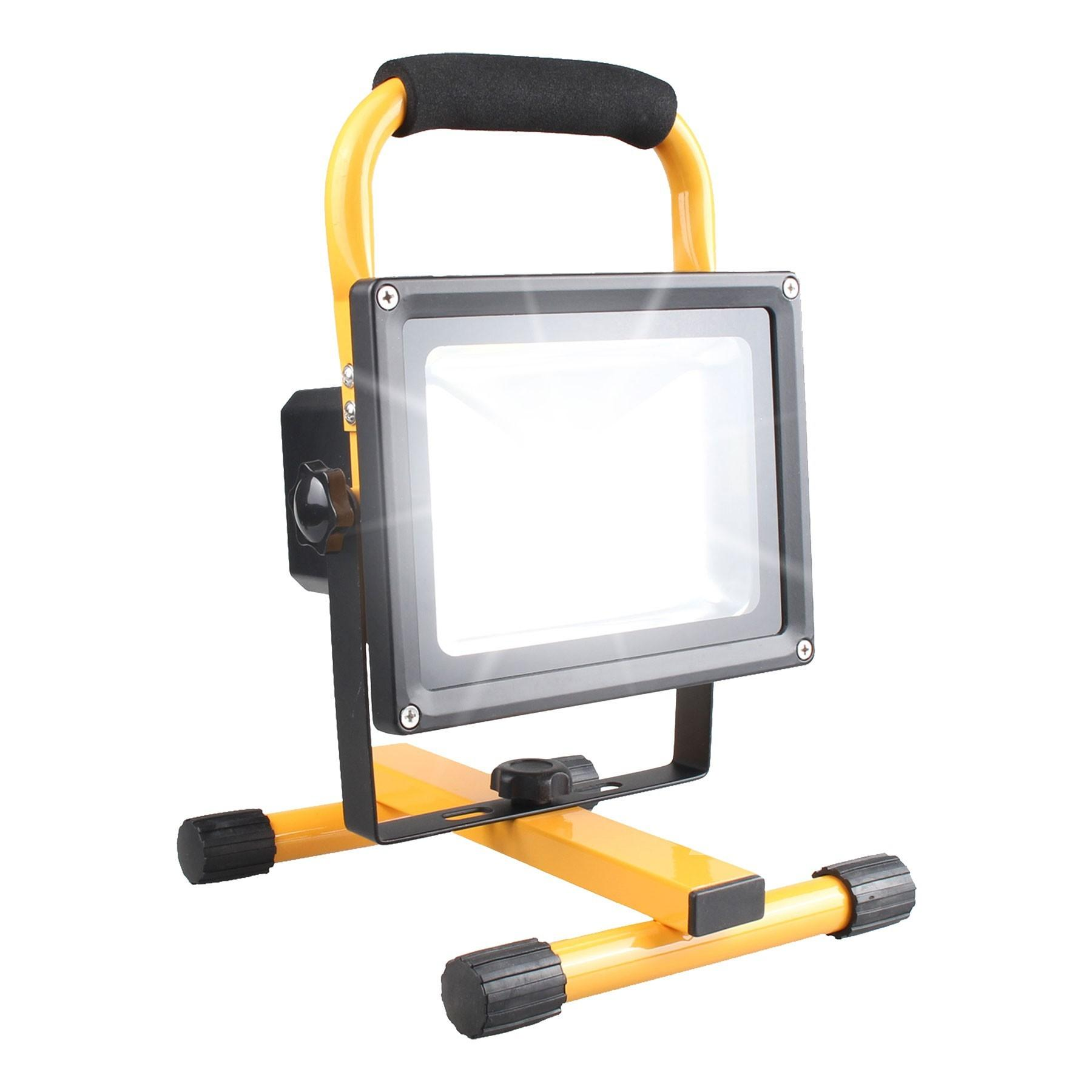 Opus 20w Rechargeable Cordless Led Outdoor Work Light
