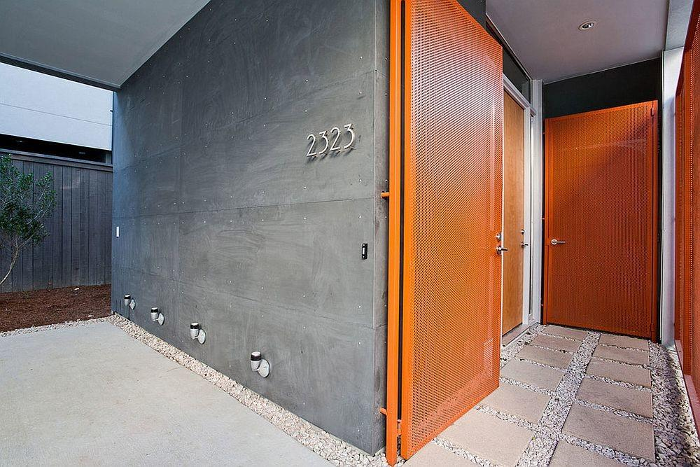 Orange Front Door Painting Ideas Inspirations