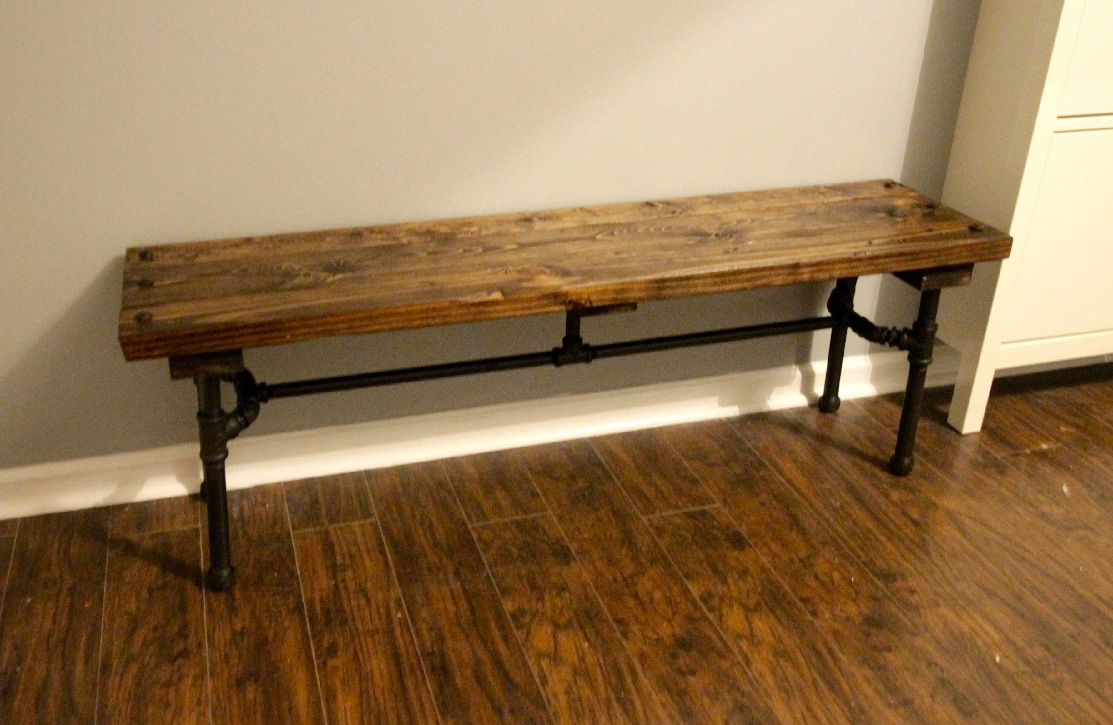 Orc Week Diy Industrial Pipe Bench Charleston Crafted