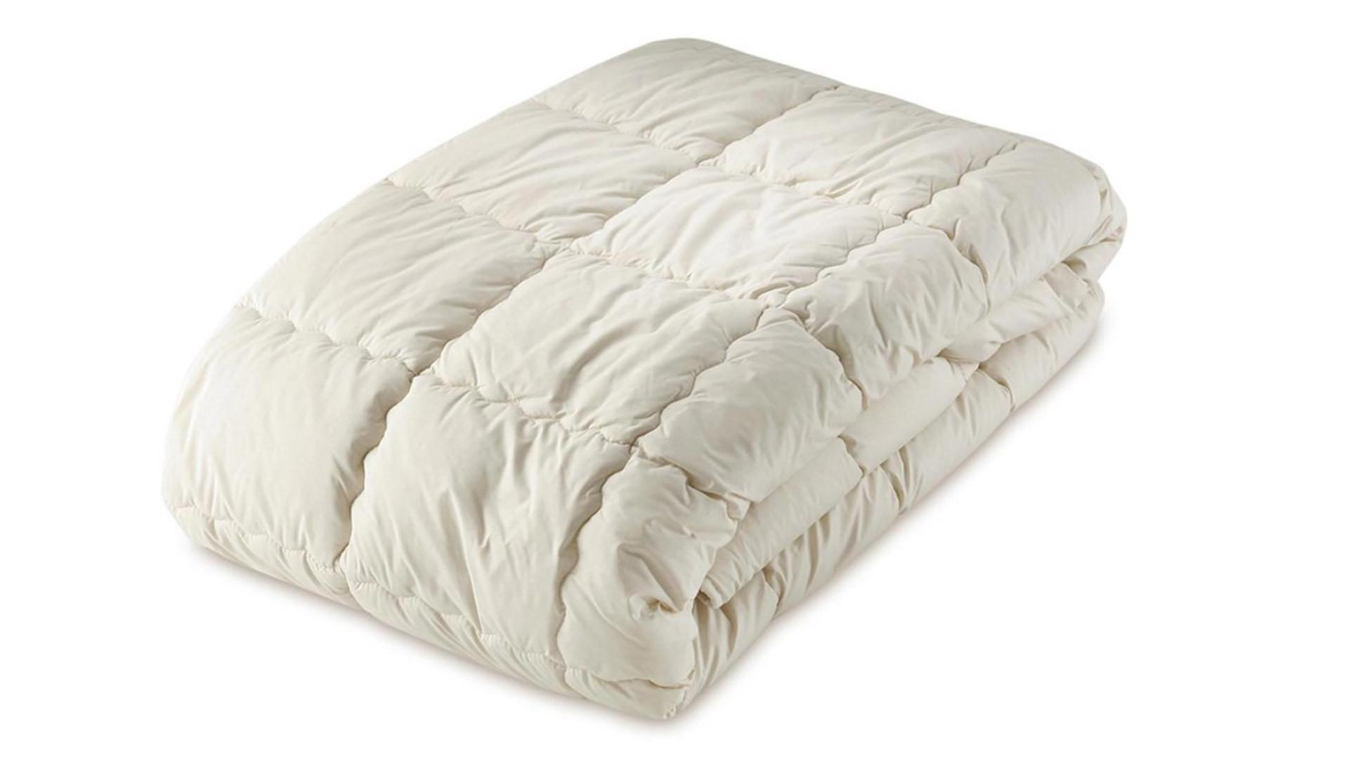 Organic Cotton Filled Mattress Covers Toppers Natural