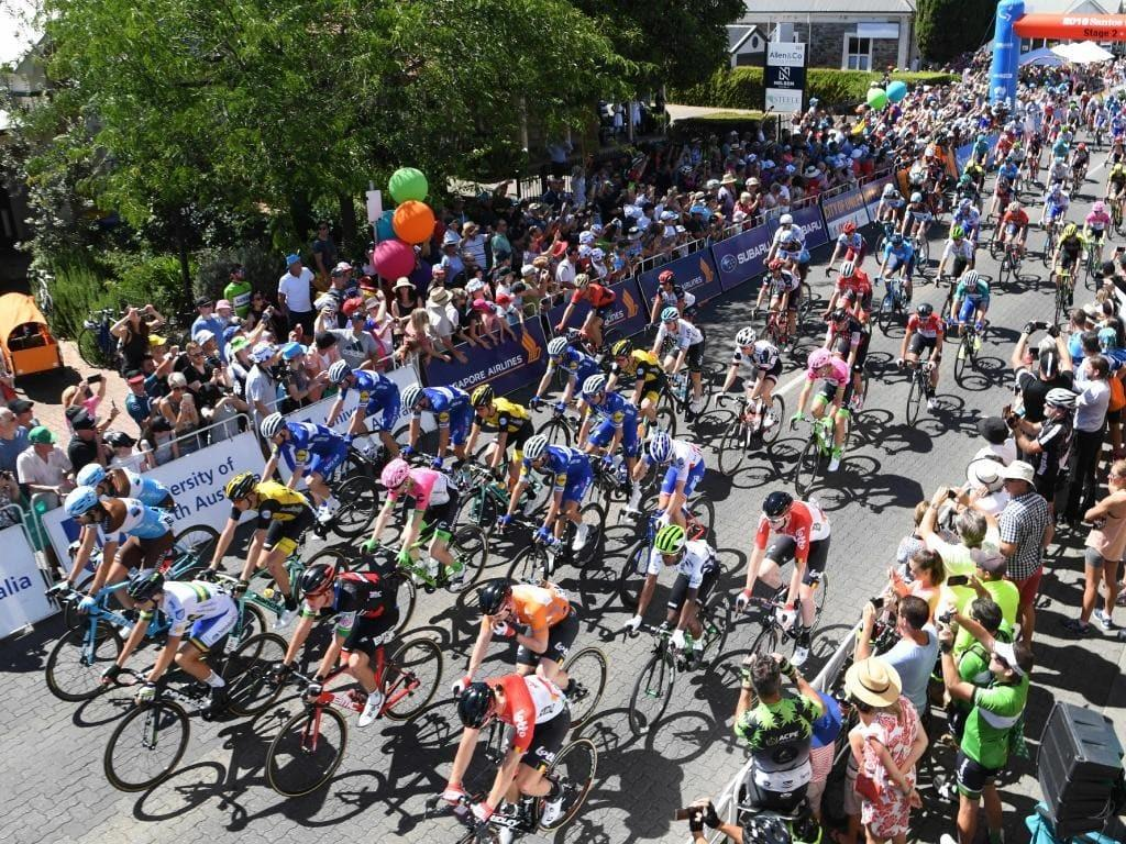 Organisers Reduce Stage Tdu 2018 26km Due