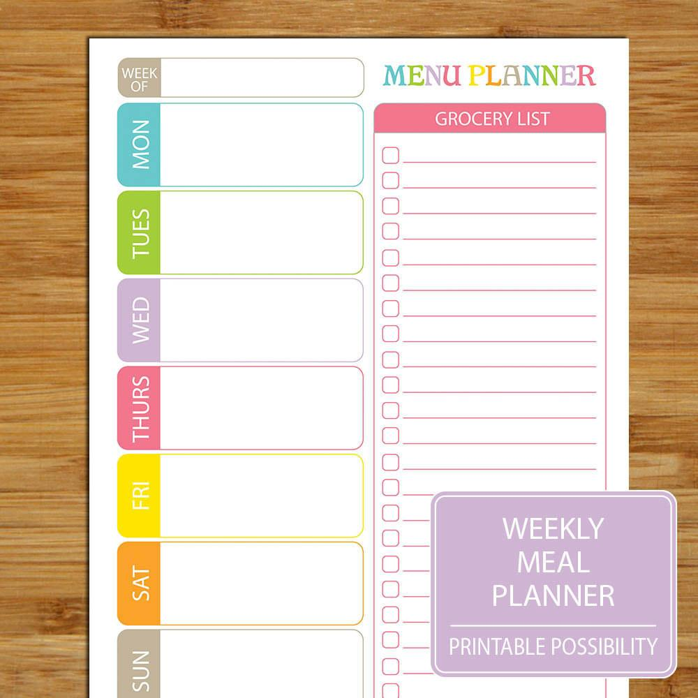Organization Can Make Expert Meal Planner