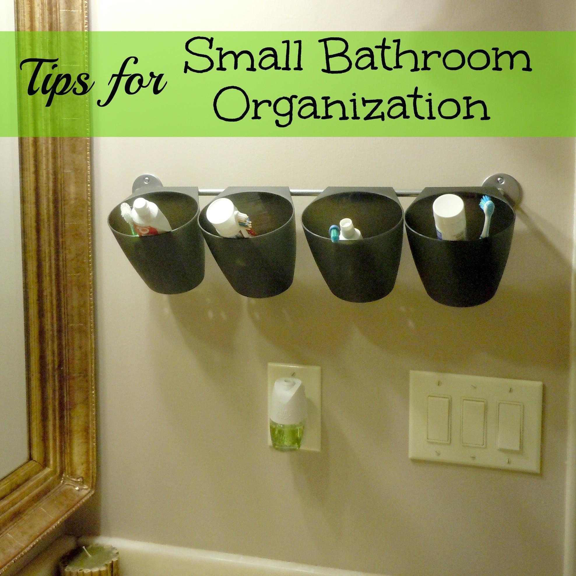 Organization Ideas Kid Bathroom