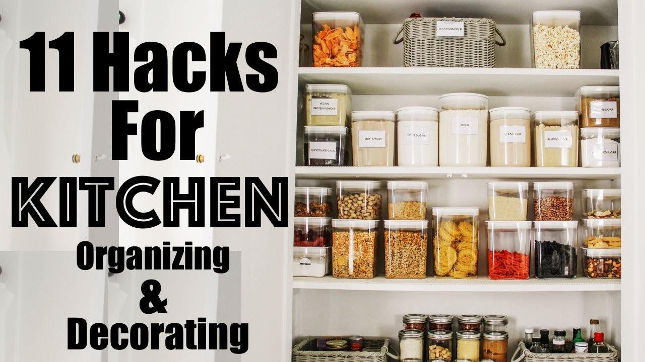 Organize Hacks Decorating Organizing Small