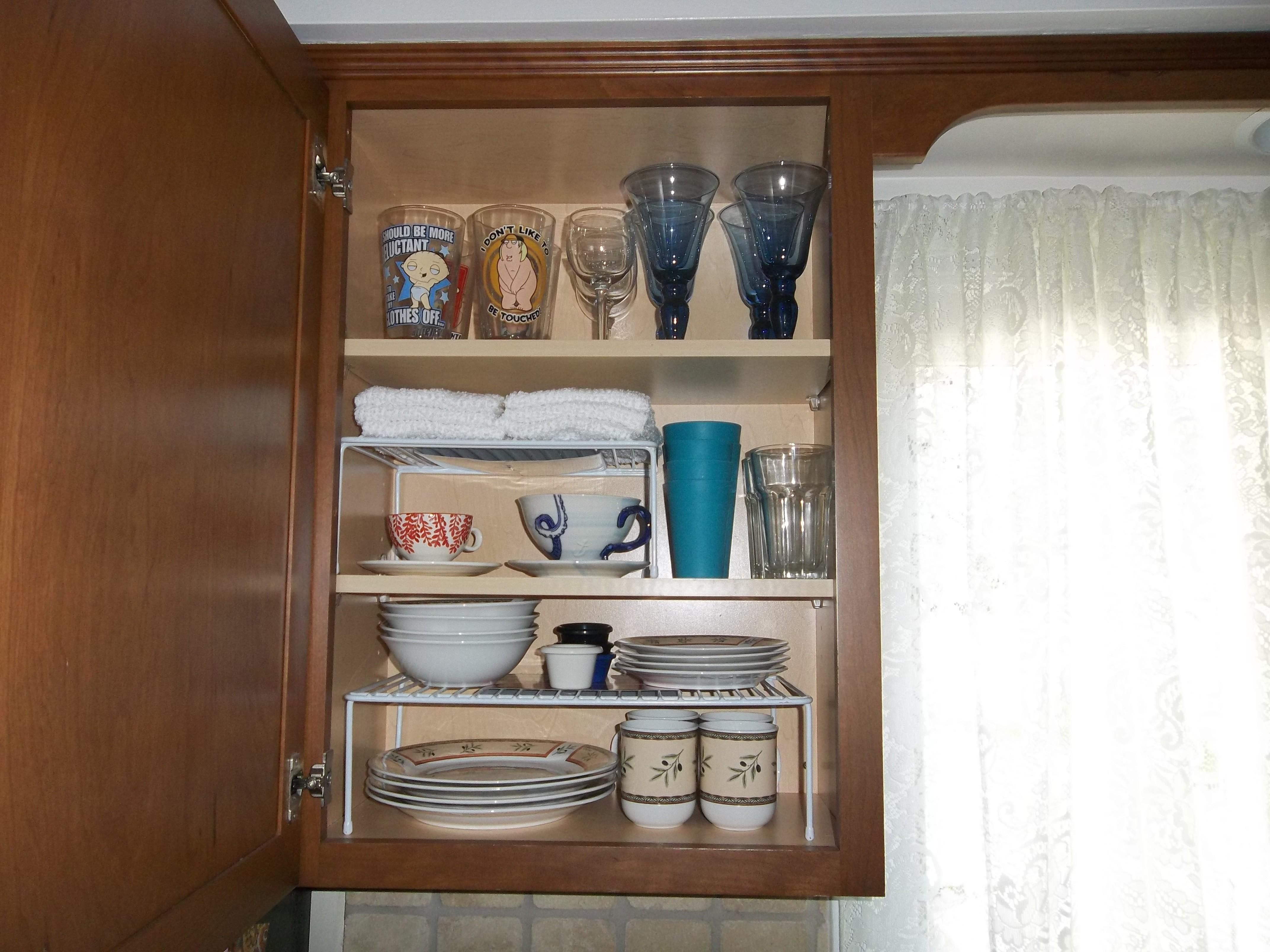 Organize Kitchen Cabinets Got Rid Dishes Decoratorist 216495
