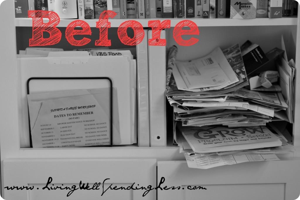 Organize Your Home Office Day Living Well Spending