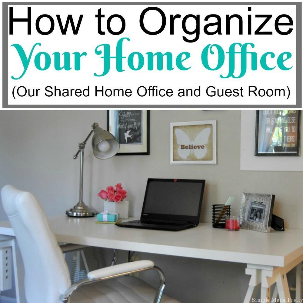 Organize Your Home Office Turn Closet Into