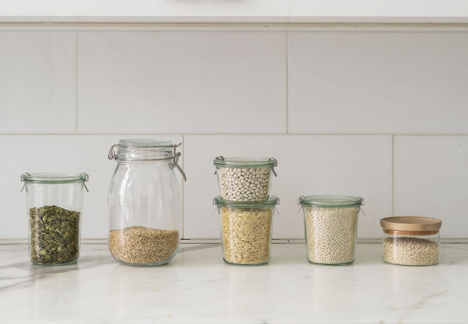 Organized Pantry Rules Decanting Dried Goods